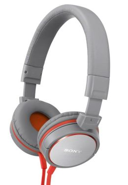 Sony MDR-ZX600 Stereo Headphones - Gray