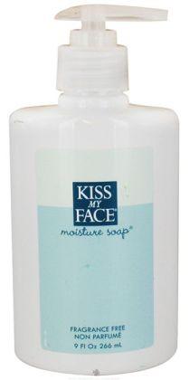 Kiss My Face 55047 Fragrance Free Moist Soap