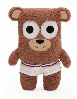 Bear in Underwear 12 inch Plush Doll