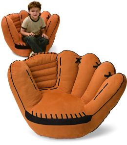 Baseball Glove 22 inch Plush Chair