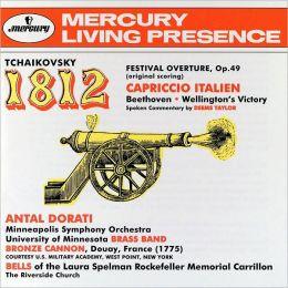 Tchaikovsky: 1812 Overture, Capriccio Italien / Beethoven: Wellington's Victory