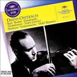 Bach, Brahms, Tchaikovsky: Violin Concertos / Beethoven: Romances