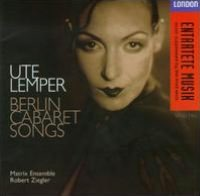 Berlin Cabaret Songs [German Version]