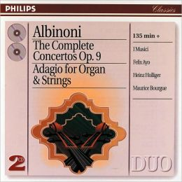 Albinoni: The Complete Concertos Op. 9, Adagio For Organ & Strings