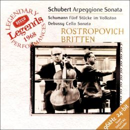 Schubert, Schumann, Debussy: Cello Sonatas