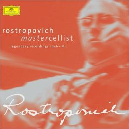 Rostropovich: Mastercellist -- Legendary Recordings, 1956-1978