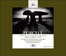 Purcell: Dido & Aeneas; King Arthur; Dioclesian; Timon of Athens; 3 Odes [Box Set]