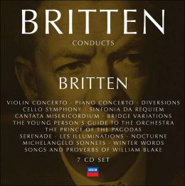 Britten Conducts Britten [Box Set]