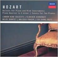 Mozart: Piano Quintet, Piano Quartet No. 1, Sonata For Two Pianos