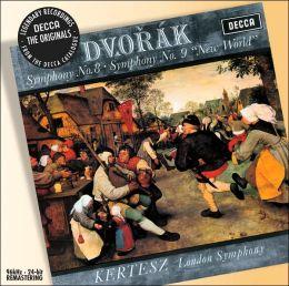 Dvorak: Symphony Nos. 8; Symphony No. 9