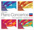 CD Cover Image. Title: Ultimate Piano Concertos: The Essential Masterpieces
