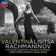 CD Cover Image. Title: Rachmaninov: The Piano Concertos; Rhapsody on a Theme of Paganini, Artist: Valentina Lisitsa