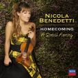CD Cover Image. Title: Homecoming: A Scottish Fantasy, Artist: Nicola Benedetti