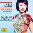 CD Cover Image. Title: Rachmaninov: Piano Concerto No. 3; Prokofiev: Piano Concerto No. 2, Artist: Yuja Wang