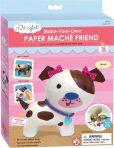 Product Image. Title: My Studio Girl: Paper Mache Friend Puppy Dog