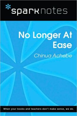 No Longer at Ease (SparkNotes Literature Guide Series)