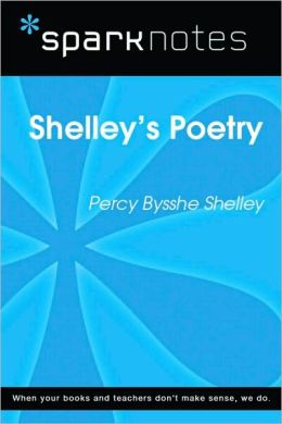 Shelley's Poetry (SparkNotes Literature Guide Series)