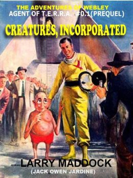 Creatures Inc. [The Adventures of Webley, Alien Symboite #1]