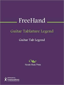 Guitar Tablature Legend