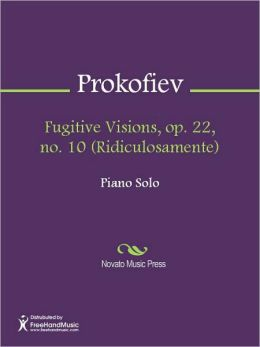 Fugitive Visions, op. 22, no. 10 (Ridiculosamente)