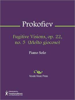 Fugitive Visions, op. 22, no. 5 (Molto giocoso)