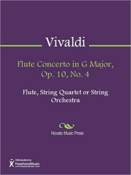 Flute Concerto in G Major, Op. 10, No. 4