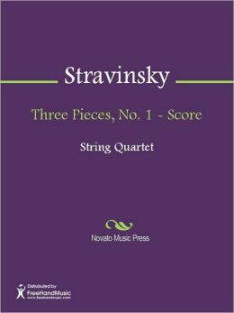 Three Pieces, No. 1 - Score