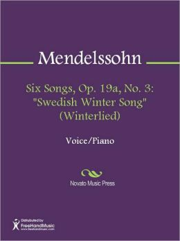 Six Songs, Op. 19a, No. 3:
