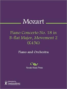 Piano Concerto No. 18 in B-flat Major, Movement 2 (K456)