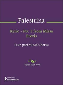 Kyrie - No. 1 from Missa Brevis
