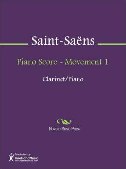 Piano Score - Movement 1