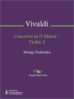 Concerto in D Minor - Violin 2