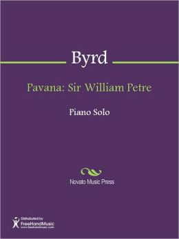 Pavana: Sir William Petre