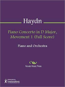 Piano Concerto in D Major, Movement 1 (Full Score)