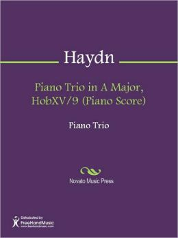 Piano Trio in A Major, HobXV/9 (Piano Score)