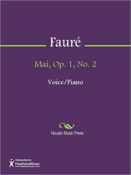 Mai, Op. 1, No. 2