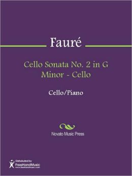 Cello Sonata No. 2 in G Minor - Cello