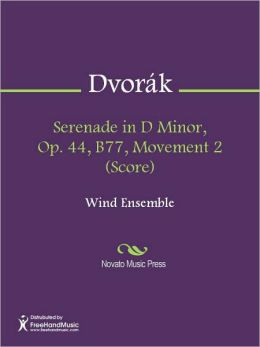 Serenade in D Minor, Op. 44, B77, Movement 2 (Score)
