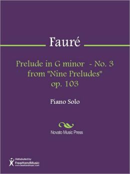 Prelude in G minor - No. 3 from
