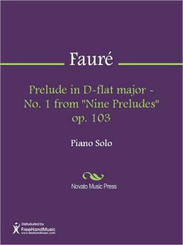 Prelude in D-flat major - No. 1 from