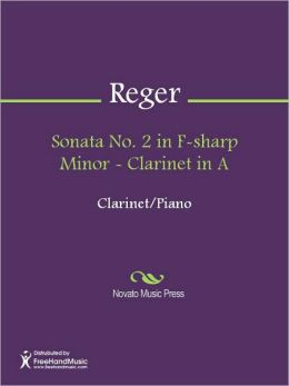 Sonata No. 2 in F-sharp Minor - Clarinet in A