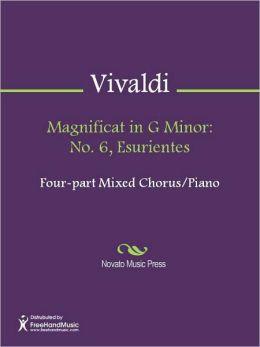 Magnificat in G Minor: No. 6, Esurientes
