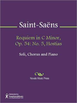 Requiem in C Minor, Op. 54: No. 5, Hostias