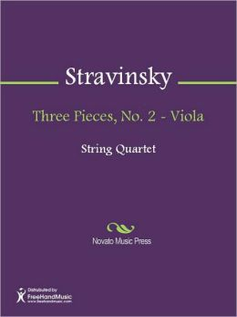 Three Pieces, No. 2 - Viola