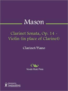 Clarinet Sonata, Op. 14 - Violin (in place of Clarinet)