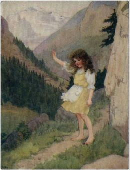 Heidi, illustrated