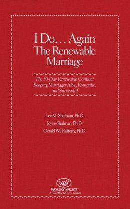 I Do... Again: The Renewable Marriage