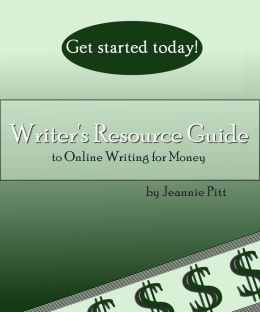 Writer's Resource Guide to Online Writing For Money