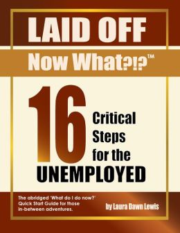 16 Critical Steps for the Unemployed