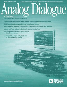 Analog Dialogue, Volume 45, Number 1